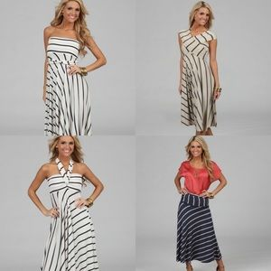 Elan Convertible 8 Way Dress Size L